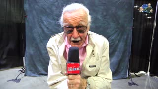 Exclusive interview with Stan Lee at Comikaze Expo 2015 - Video