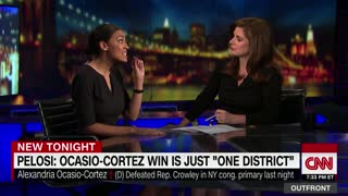Alexandria Ocasio-Cortez CORRECTS Pelosi — My Win Wasn't Just One District - Video