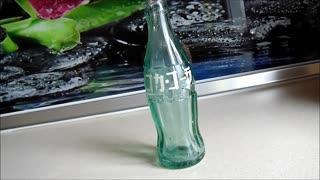 Antique Japanese Coca-Cola Bottle  - Video