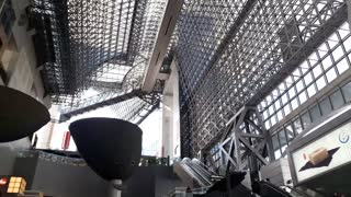 Kyoto Station in Japan  - Video