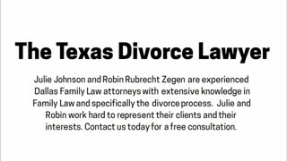 Dallas divorce attorney - Video