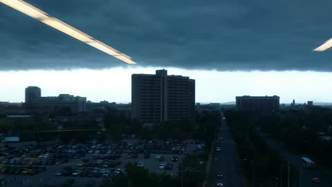 Storm Front Rolling In Louisville KY