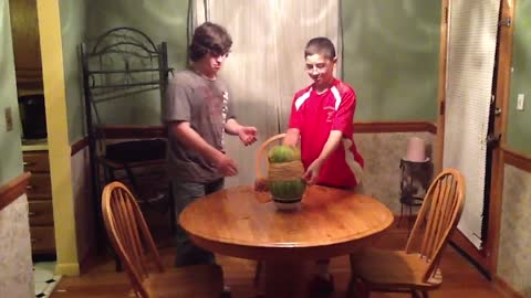Exploding Watermelon Means Lights Out For These Kids