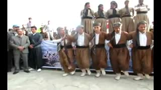 Traditional Kurdish Dance in Marivan - Video