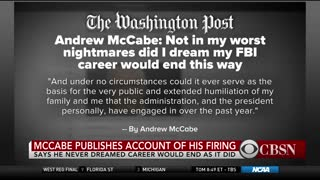 McCabe Denies He Lacked Candor But Admits Answers to Investigators Weren't 'Fully Accurate' - Video