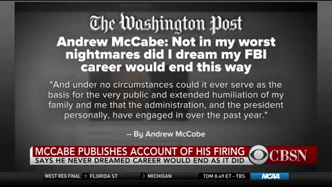 McCabe Denies He Lacked Candor But Admits Answers to Investigators Weren't 'Fully Accurate'