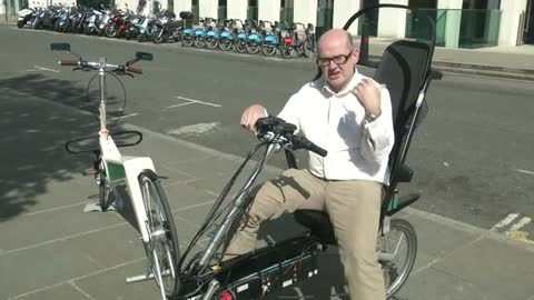 'Safest bike ever' devised by British entrepreneur