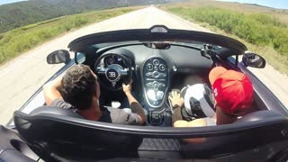 Bugatti Veyron Supercar: Cockpit Views At 238.5mph - Video