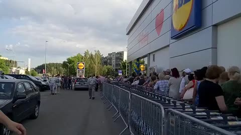LIDL Grand opening in Lithuania, Vilnius