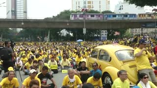 Second day of anti-government protests in Malaysia - Video