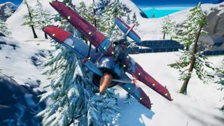 fortnite season 5 Airplane destruction