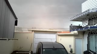 Tornado Rips Off Roof - Video