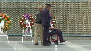 WWII veterans mark 70th anniversary of Pacific victory - Video