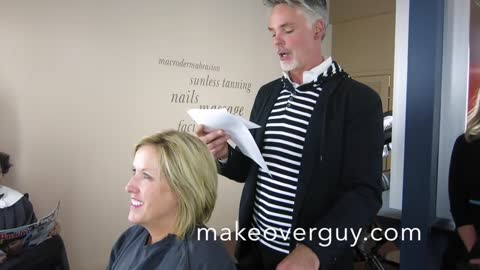 MAKEOVER: Fifty, Not Frumpy by Christopher Hopkins, The Makeover Guy®