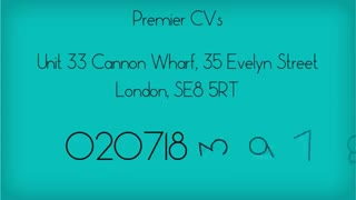 CV Writing - Video