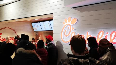 Inside Yorkdale's New Chik-Fil-A