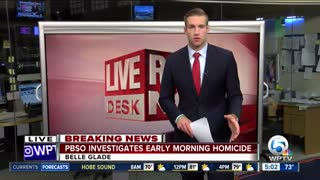PBSO investigates early-morning homicide in Belle Glade - Video