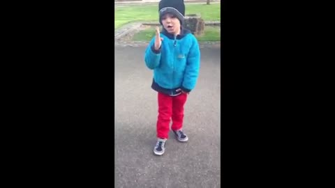 Child shows his new dance!