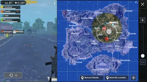 Killing Zombies With Knife In Pubg Mobile Game