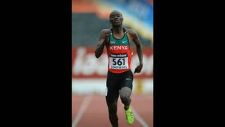 Kenyan Sprinter Ian Mutuku Collapses, Dies In Hospital - Video