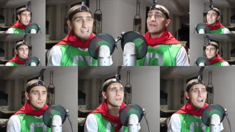 """Amazing one man a capella cover of Nickelodeon's """"Doug"""""""