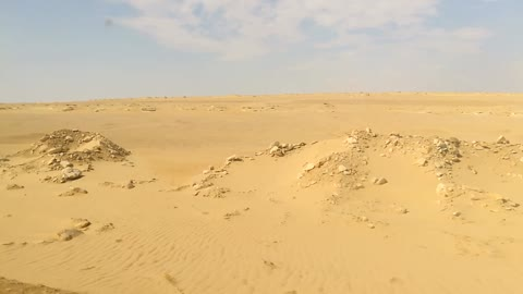 Oldest Desert In Egyp Located In Wadi El Rayan
