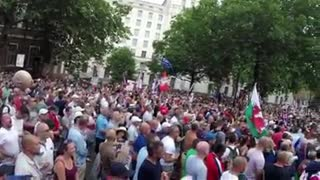 A PRO TRUMP UK RALLY - Video