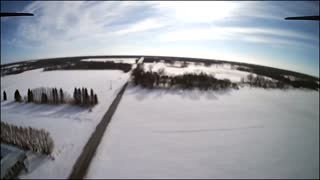 Maiden Drone Flight Outdoors