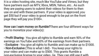 Bourbonnais Middle Class Rumble Us Free To Get Paid For Videos