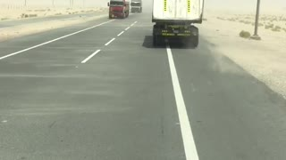Big Trucks On Alain Road  - Video