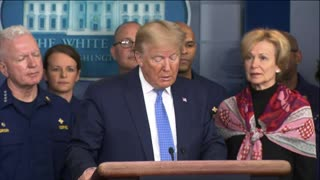Trump holds Sunday night presser, reassures Americans all is well