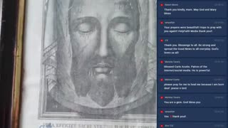 The Holy Face Prayer Meeting from Ireland | Tue, Feb. 23, 2021