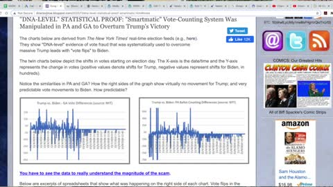 Doug Ross/ DNA of Election Fraud a Comparison of Vote Switching in PA and GA