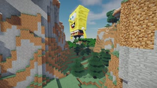 Minecraft Spongebob Squarepants Build Schematic