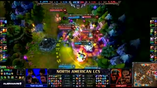 LoL LCS TSM vs coL WildTurtle Pentakill (TSM Commentary) - Video