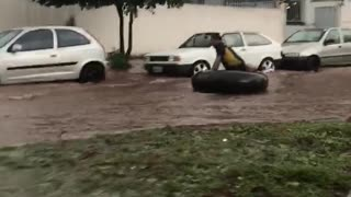 Just Floating Down the Road - Video