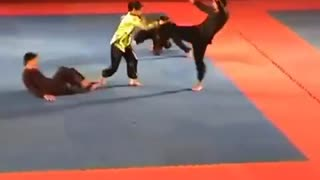 Female Martial Artist Performance - Video