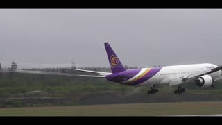 Plane Runway Takeoff and Landings - Video