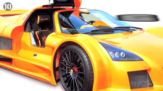 10 Fastest Supercars In The World - Video