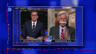 Stephen Colbert apologizes to President Trump - Video