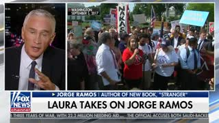 Laura Ingraham vs. Jorge Ramos Part 1