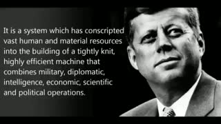 John Kennedy Warned Us