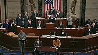 Bush vs Gore January 6th congressional session House objections