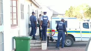 Suspects involved in a drug bust in Saldanha arrives at the Vredenburg magistrates court