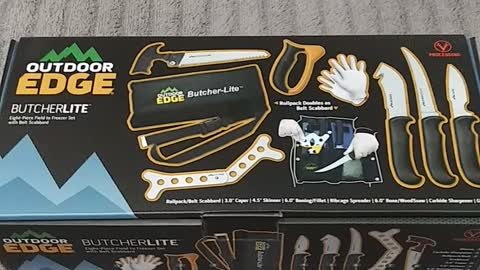 Outdoor Edge Butcher Lite Unboxing and Review