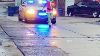 Grinch Stop, What have you done with SANTA