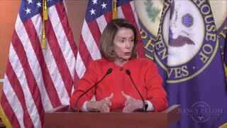Nancy Pelosi Presser After Tax Bill - Video