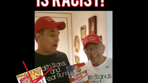 Cracker Jacks ..as a White Man My 92 Year Young Dad and I find it Offensive LOL!!! :)