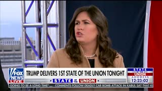 Sarah Sanders Swings at Celebrities Having Their Own State of the Union - Video
