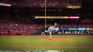 Cardinals Stephen Piscotty Gets Hit THREE Times in ONE Inning! - Video